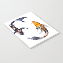 Butterfly Koi Notebook