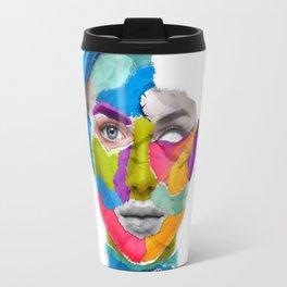 Torned Face Travel Mug
