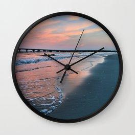 Shore Colors Wall Clock