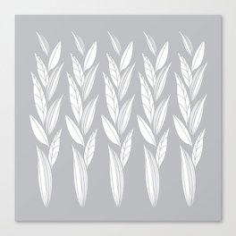 Eternity in Silver Leaf Canvas Print