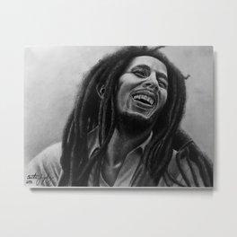 Bob 420 Marley Metal Print