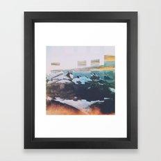 Fractions A10 Framed Art Print