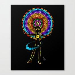 Orbiting (Color) Canvas Print