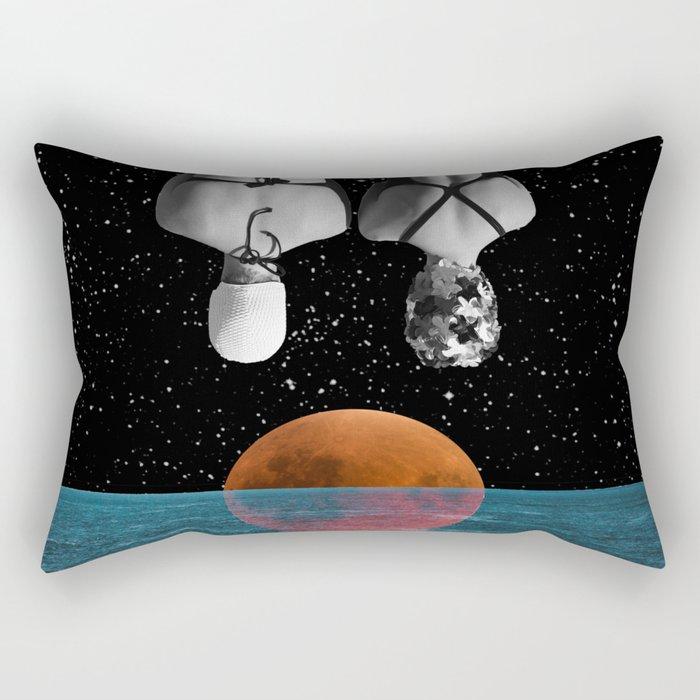 Planet Pool Rectangular Pillow