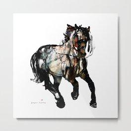 Horse (Galactic runner) Metal Print