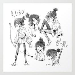 kubo Art Print