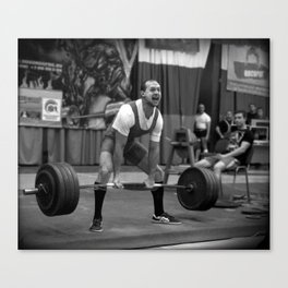 hard sport Canvas Print