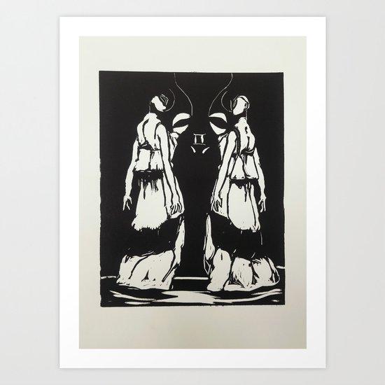 Gemini Print Art Print