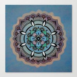 Round Colorful Design Canvas Print