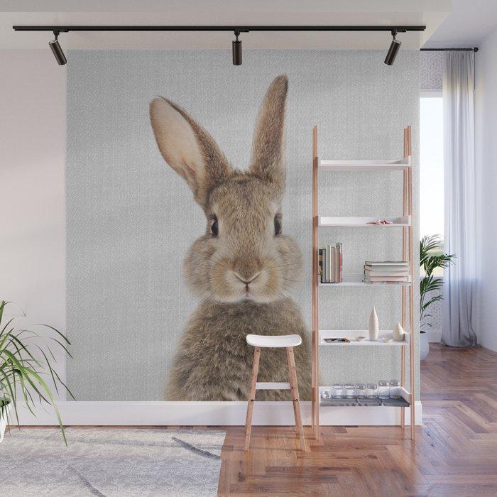 Rabbit - Colorful Wall Mural