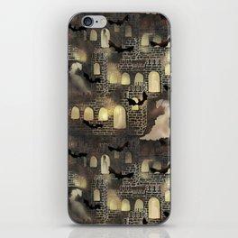 haunted castle iPhone Skin