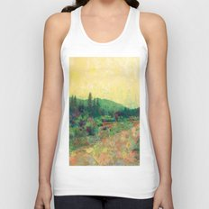 Miles to Go Before I Sleep Unisex Tank Top
