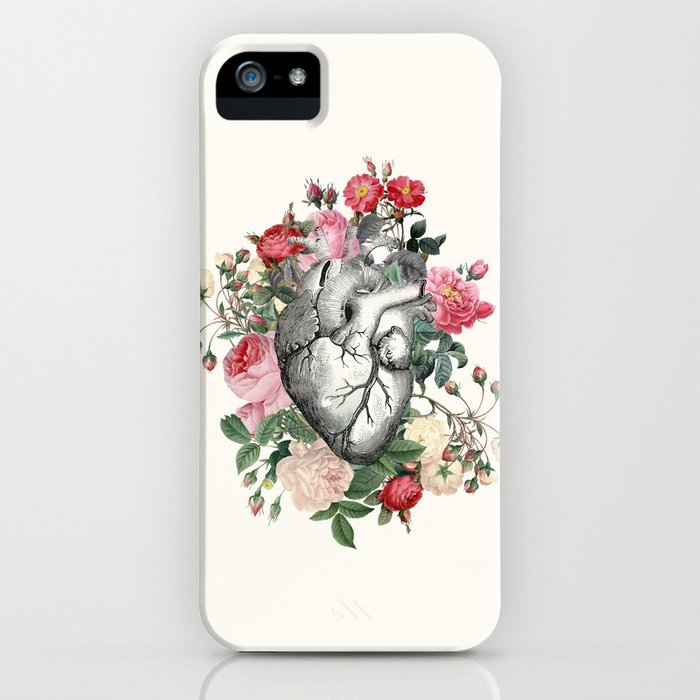 Roses for her Heart iPhone Case