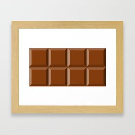 For the love of chocolate Framed Art Print