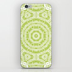 Spring Botanic Mandala iPhone & iPod Skin