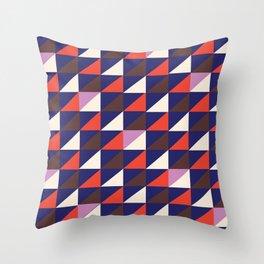 Triangle Mountain Throw Pillow