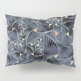 Reverie (in Grey and Gold) Pillow Sham