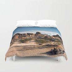 Desert Rocks Duvet Cover