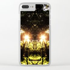DMT Ferntree Forest Clear iPhone Case