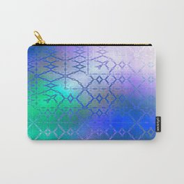Summer of Retro (blue-green-purple) Carry-All Pouch