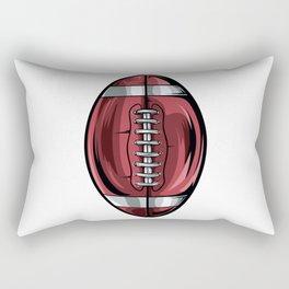 Gridiron Football Icon Rectangular Pillow