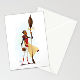 Angelina Johnson - Quidditch Captain Stationery Cards