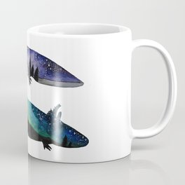 GALAXY STARRY NIGHT AXOLOTL ARTWORK Coffee Mug