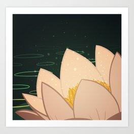 Lotus Bloom Art Print