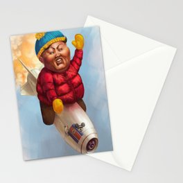 """Respect My Authoritah!"" Stationery Cards"
