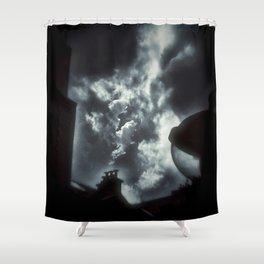 The street cotton - Gerald Robin © Design Shower Curtain