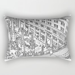 Cathedral Square Rectangular Pillow