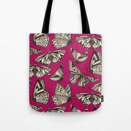 summer butterflies pink Tote Bag