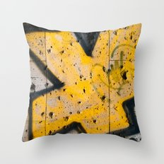writing on the wall Throw Pillow