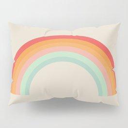 Vintage Rainbow Pillow Sham