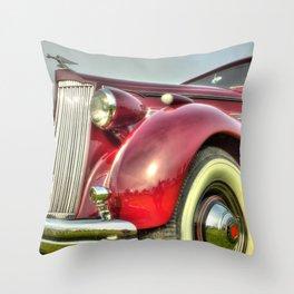 Packard Type 138 Vintage Saloon Car Throw Pillow