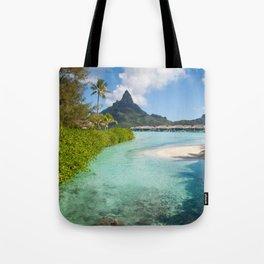Bora Bora Mountain View Tote Bag