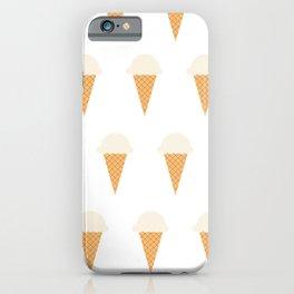 Vanilla Ice-creams iPhone Case