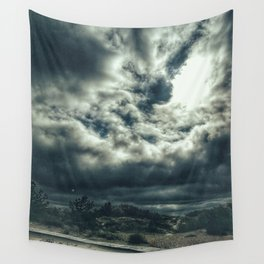 Thunder is coming Wall Tapestry