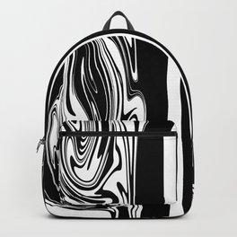 Stripes, distorted 5 Backpack