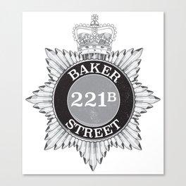 Baker Street Regulars Canvas Print