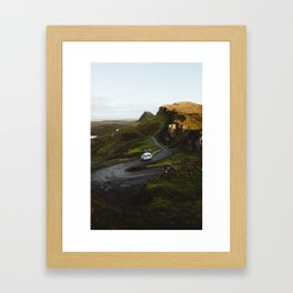 Quiraing Road, Isle of Skye Framed Art Print