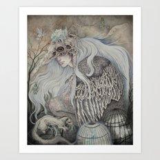 Time in Captivity Art Print
