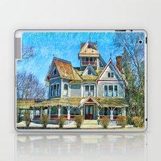 Grey Gables Mansion Laptop & iPad Skin