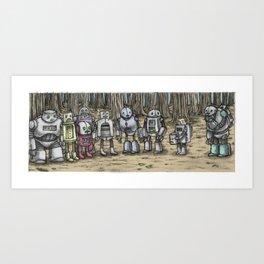 ROBOTS! Art Print