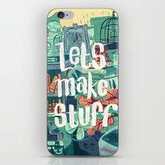 Let's Make Stuff iPhone Skin