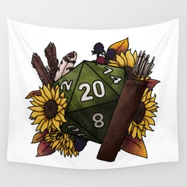 Ranger Class D20 - Tabletop Gaming Dice Wall Tapestry