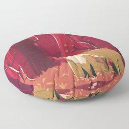 Forest Love Floor Pillow
