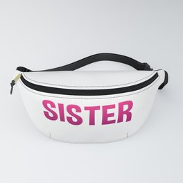 Flippin Sister Gymnastic Gymnast Tumbling Funny Gift Fanny Pack