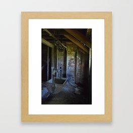 Hay hauler Framed Art Print