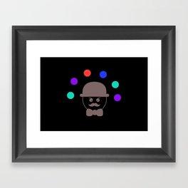 Juggle Framed Art Print